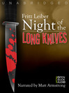 Night of the Long Knives (MP3)